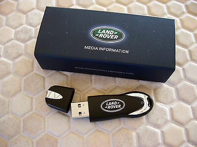 LAND ROVER BOXED PRESS 2Gb FLASH DRIVE LA AUTOSHOW BROCHURE 2012-13 USA EDITION
