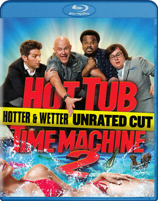 Hot Tub Time Machine 2 (Hotter Wetter Unrated Cut) (Blu-Ray) (Blu-Ray)