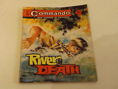 Commando War Comic Number 582 !!,1971 Issue,v Good For Age,48 Years Old,v Rare.