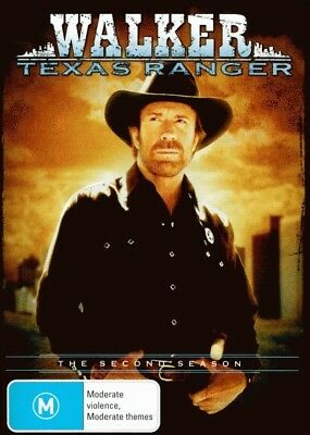 Walker, Texas Ranger: Season 2 = NEW DVD R4