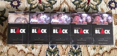 DJARUM BLACK 16 Collectible Sealed 10 Packs 10x16