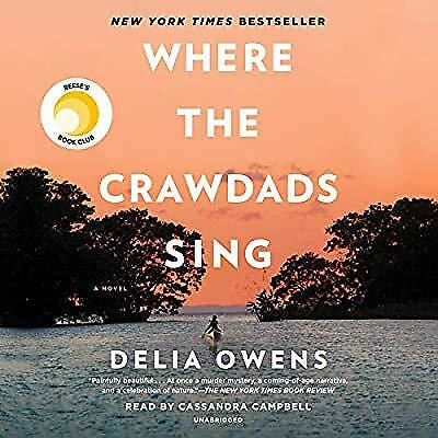 Where the Crawdads Sing By Delia Owens [Audiobook MP3]