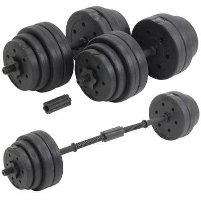 DTX Fitness 30Kg Dumbells Pair Of Weights Barbell/Dumbbell Body Building Set