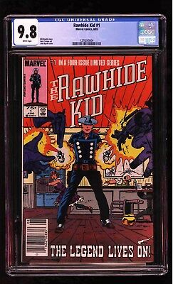 Rawhide Kid #1 CGC 9.8 White Highest Graded Copy! 1985 Limited Series + Iss 2 &3