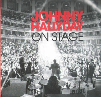 """CD """"Johnny Hallyday On Stage 2012""""     2 CD     NEUF SOUS BLISTER"""