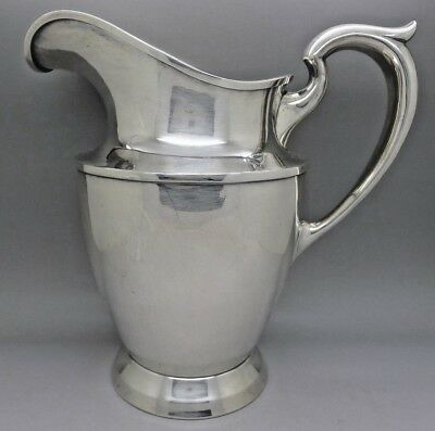 Baltimore Silversmith Sterling Silver Large Pitcher 640 Grams 22 Ounces Fine!