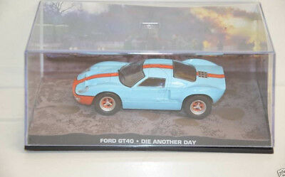 Nr. 52 James Bond 007 Modellauto Collection - Ford GT 40 - 1:43 o. Heft in Box