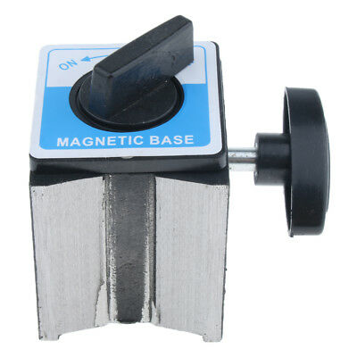 Dial Gage Holder Magnetic Base Metal Test Indicator Stand w/ Adjustable Arm