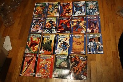 ULTIMATE FANTASTIC FOUR LOT 1-19 Comic Book Lot