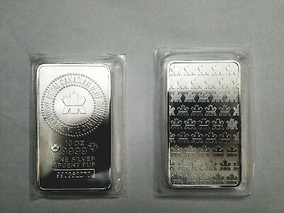 10 oz Silver Bar  - Royal Canadian Mint