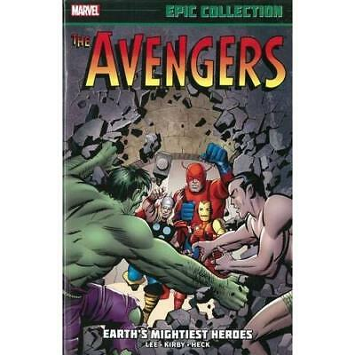 Avengers Epic Collection: Earth's Mightiest Heroes - Paperback NEW Stan Lee (Aut