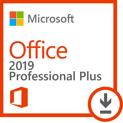 Microsoft Office 2019 Professional Plus 32/64 Bit 1PC Key + Download Link