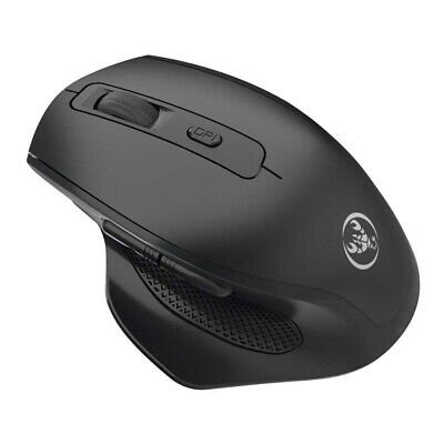 Wireless 2400DPl Cordless Optical Gaming Mouse USB Interface PC
