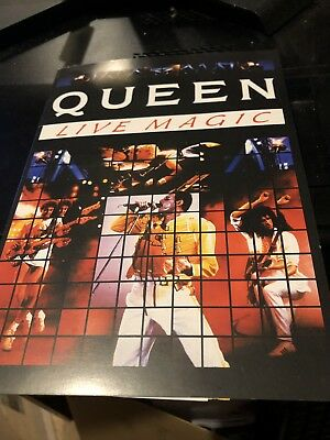 Queen Live Magic Limited Edition Numbered Phone Card Very Rare 1996