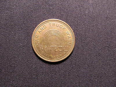 Rainbow Car & Truck Wash Token - Shawano, WI Car Wash Coin - Rainbow Coin