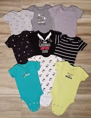 Carters Baby Boy 3-6 Months Lot -- 9 Piece