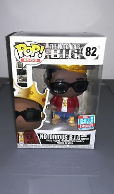 Funko POP! Notorious B.I.G. #82 BIG with Crown NYCC EXCLUSIVE