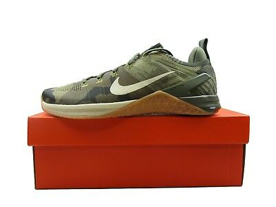 5fe66371f894 Nike Metcon DSX Flyknit 2 Mens Training Shoes Olive Camo 924423 300 Multi  Size