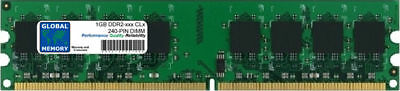 1GB DDR2 400/533/667/800MHz 240-PIN DIMM MEMORY RAM FOR DESKTOPS/PCs
