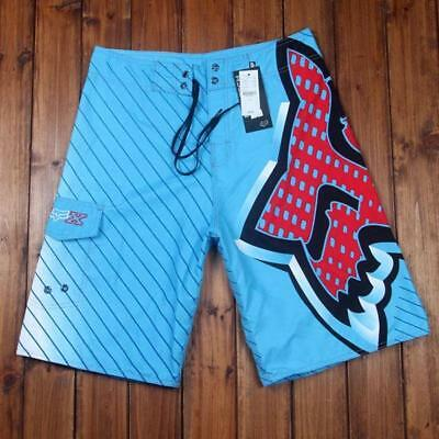 Cool Quick Dry Fox Men's Beach Swimming Surf Board Shorts Asian size 30 32 34 38