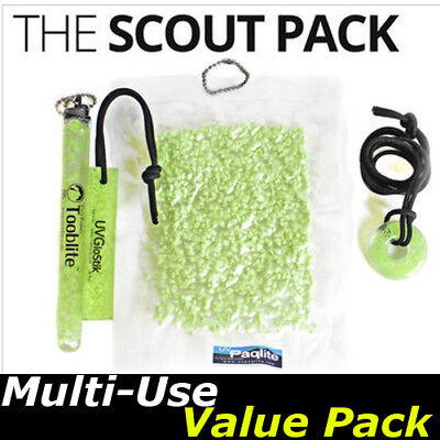 The Scout Pack, UVPaqlite Rechargeable Glow Sticks