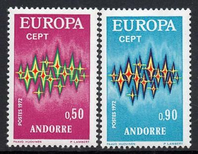 ANDORRA(FRENCH) MNH 1972 SGF236-7 Europa