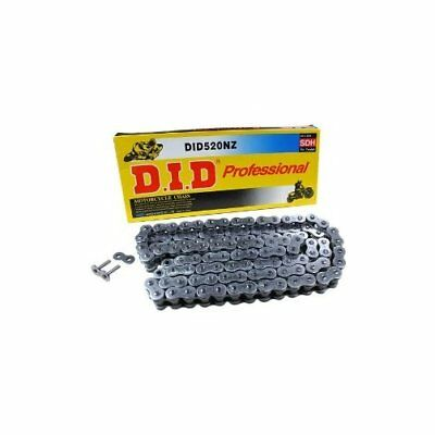 D.I.D DID 520 NZ Non O-Ring Chain 110 Links with Clip Masterlink