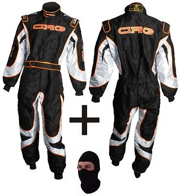 CRG Go Kart Race Suit CIK FIA Level 2 Approved with free gift Gloves