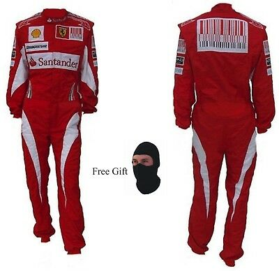 FERRARI Go Kart Race Suit CIK FIA Level 2 Approved with free gift