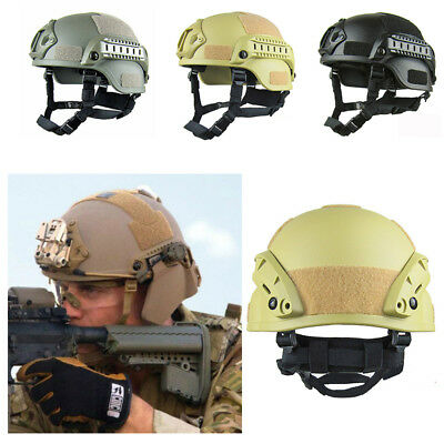 Outdoor Airsoft Paintball Tactical Military Gear Combat Fast Helmet Cover Tool G
