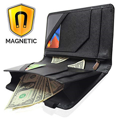Waitress Waiter Magnetic Server Book Organizer with Zipper Pocket Wallet for Wai