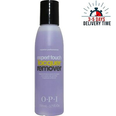 [OPI] Expert Touch Lacquer Nail Polish Remover Superior Performance 110ml NEW
