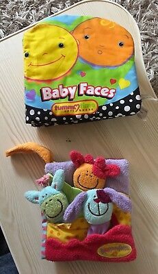 Baby Soft Activity Books With Sounds And Textures Used 2 Items