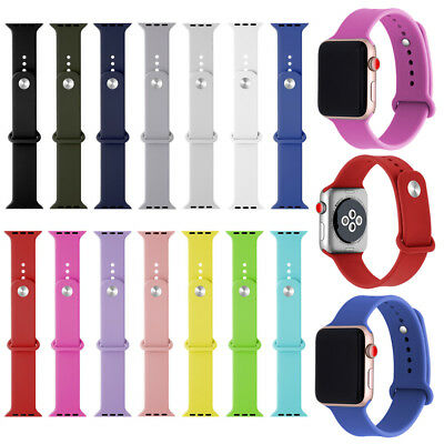 Rubber Smart Sport Watch Wrise Band Strap For Apple Iwatch Series 4 3 2 1