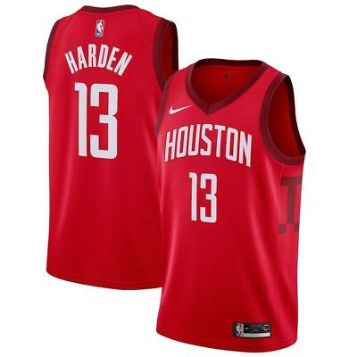 0ced99eb68e ... clearance houston rockets james harden 13 red jersey nba mens nwt  stitched 1da2a 259e1