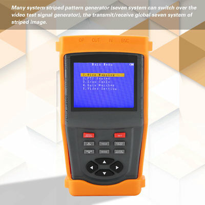 SML-INS 3.5in LCD Display Multifunctional Monitoring Network CCTV Tester Meter