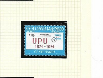 Colombia 1974 UPU Anniversary issue MNH