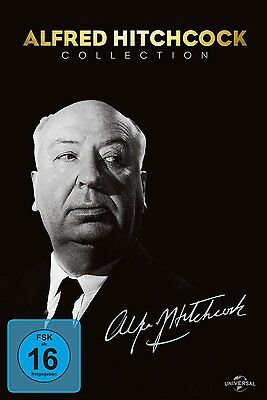 ALFRED HITCHCOCK KLASSIKER COLLECTION Cocktail PSYCHO Fenster FRENZY..14 DVD Box