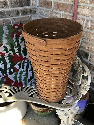 "Longaberger 1989 Umbrella Basket  17.75"" By 10"" Tall"