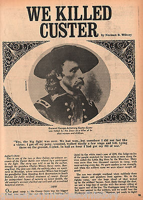 We Killed Custer - History of Eye-Witness Running Fox