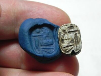 Zurqieh -As10281- Ancient Egypt, Stone Seal. For Amenhotep Ii New Kingdom.