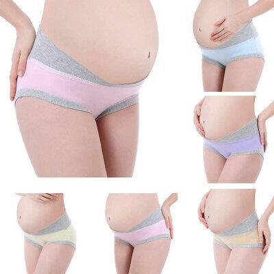 Women Low-waist Panties Underwear Seamless Soft Care Abdomen Cotton Underwear US