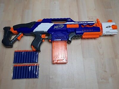Nerf N Strike Elite Rapidstrike CS-18 Gun+ 20 new Darts