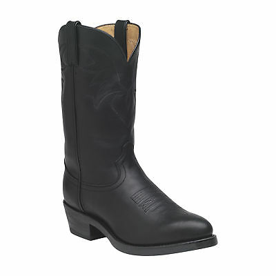 Durango 11in. Oiled Leather Western Boot - Black, Size 9 Wide, Model# TR760
