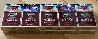 GUDANG GARAM INTERNATIONAL FILTER 12 Collectible Sealed 10 Packs 10x12