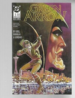 GREEN ARROW Vol.2 #1 1988 Mike Grell NM 9.6.