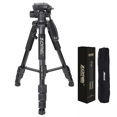 ZOMEI Q111 Professional Aluminum Camera Travel Tripod for DSLR Canon Nikon BLACK