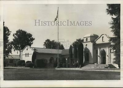 1957 Press Photo Wasco High School, Kern County - lrx53105