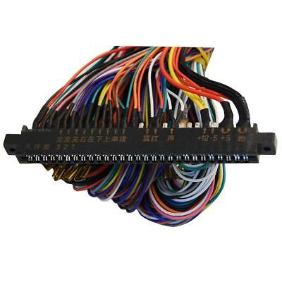 28/56 PIN JAMMA Harness Wire Wiring Cable Loom Arcade Game ... on electric harness for loom, warping a 4 harness loom, wiring loom sleeve,