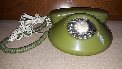 Rotary Dial Phone Northern Telecom GREEN